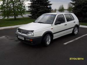 Volkswagen Golf-3, хэтчбэк, 1993 г. В.